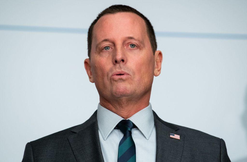 Posten in Berlin niedergelegt: Richard Grenell als US-Botschafter in Deutschland zurückgetreten
