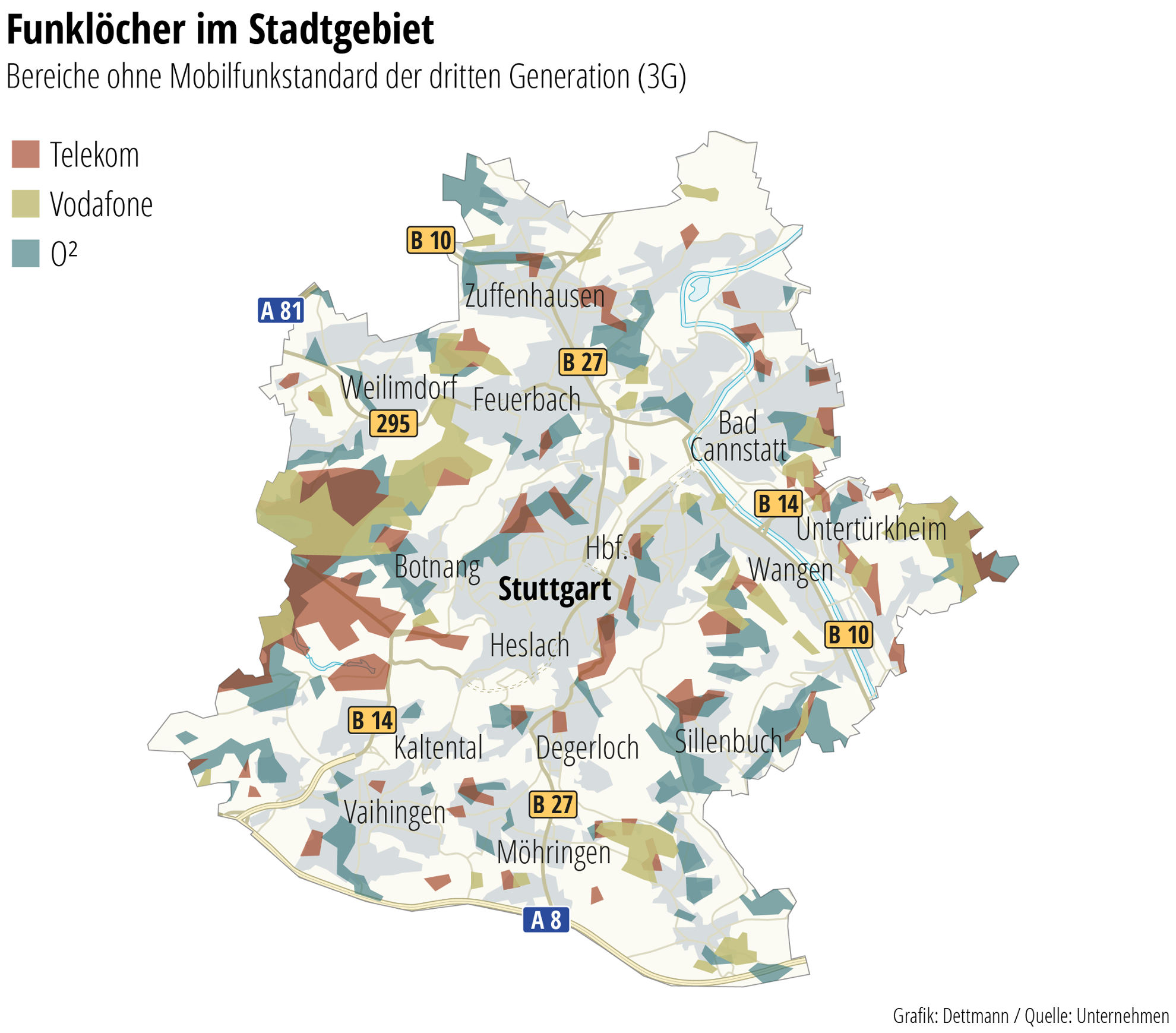 Lte Masten Karte.Probleme Mit Mobilfunknetz Stuttgart Stadt Der Vielen Funklöcher