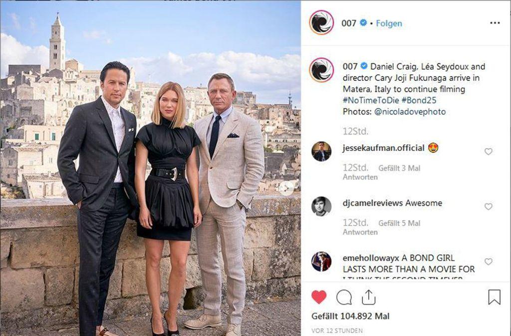 James Bond Neuer Film