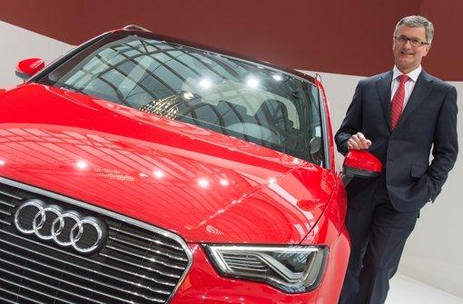 Audi-Chef Stadler setzt auf Hybridautos wie den A3 e-tron. Foto: dpa