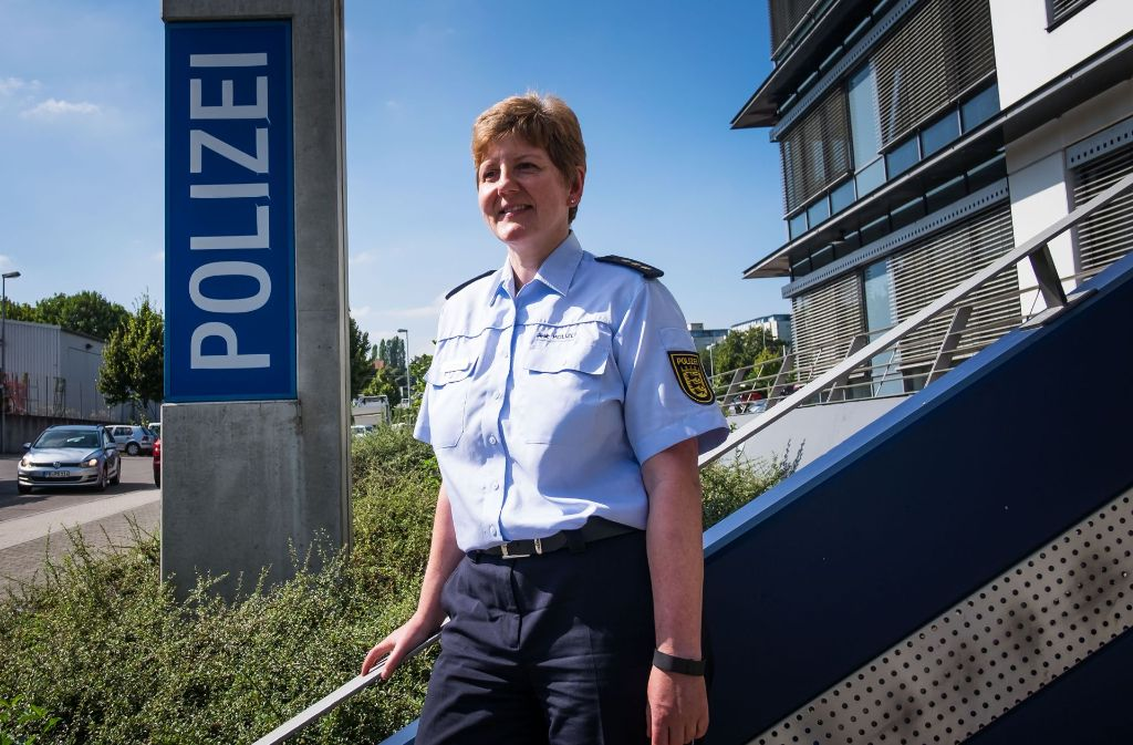 Verkehrspolizei Stuttgart: Erstmals leitet eine Frau die ...