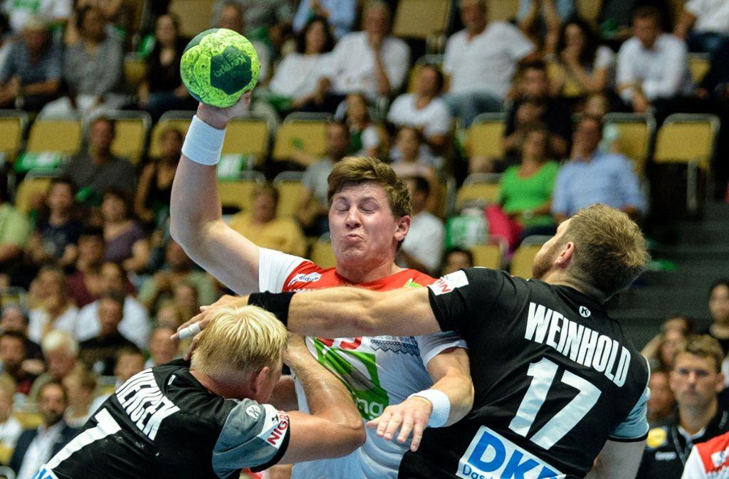 Handball Deutschland Noch Nicht In Wm Form Niederlage Gegen