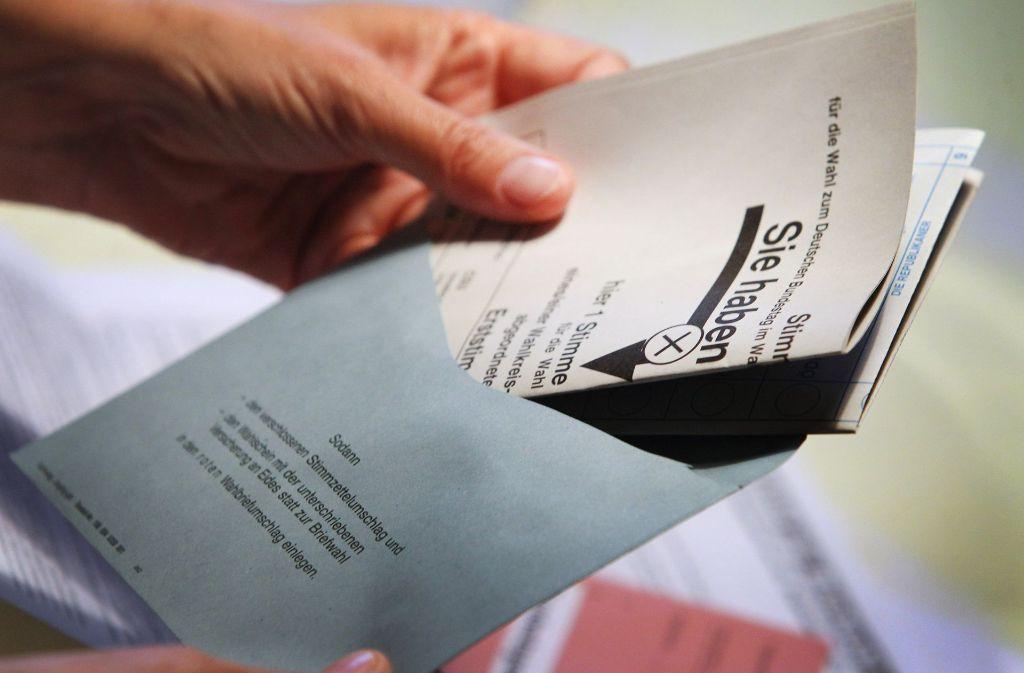 Bundestagswahl 2017 So Funktioniert Die Briefwahl Politik