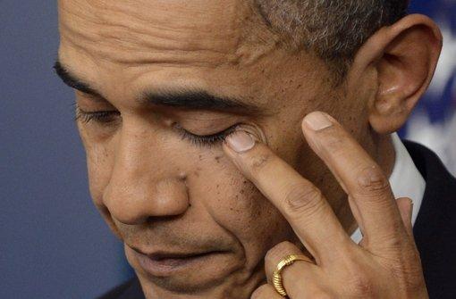 Obama will Schritte gegen Waffengewalt