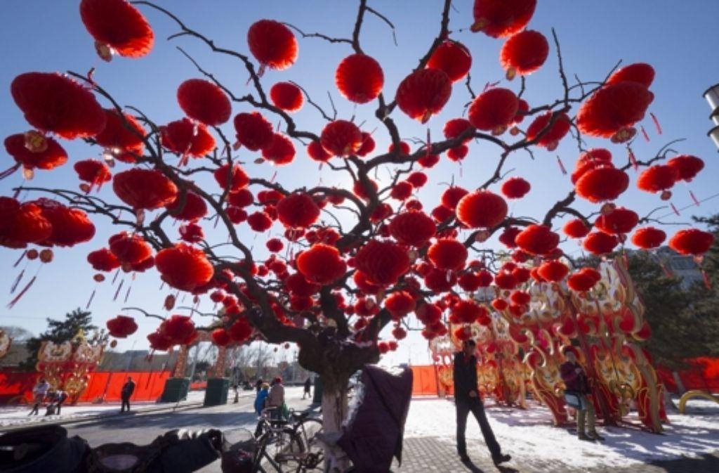 Chinesisches Neujahrsfest: Das Glück kommt mit der Schlange ...