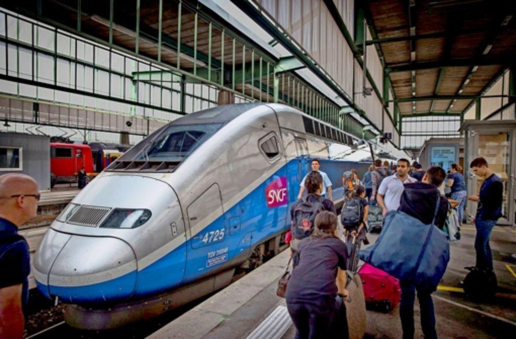 Tgv In Stuttgart In Nur 190 Minuten Nach Paris Stuttgart