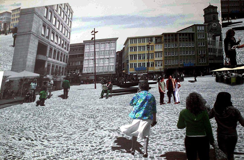 Umgestaltung des stuttgarter marktplatzes architekten fordern neuen wettbewerb stuttgart - Architekten kreis ludwigsburg ...