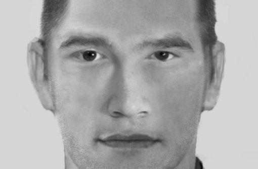 Die Polizei sucht mit Hilfe dieses Phantombildes einen Exhibitionisten, der sich in Remseck am Neckar (Kreis Ludwigsburg) seit Mitte vergangenen Jahres in mindestens acht Fällen vor jungen Frauen entblößte. Der Mann soll etwa 20 bis 30 Jahre alt und zirka 1,75 Meter groß sein. Er hat eine sportliche Statur, südländisches Aussehen und kurze dunkle Haare. Bei seinen Übergriffen hatte er meist einen Dreitagebart. Außerdem sprach er deutsch mit Akzent. Foto: Polizeidirektion Ludwigsburg
