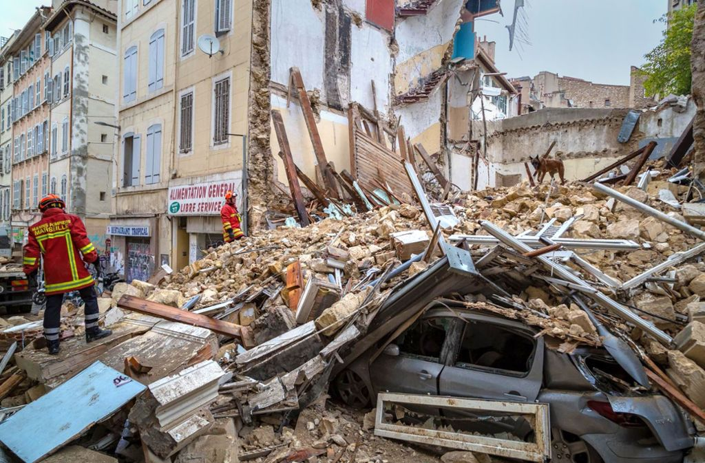 Marseille Hauseinsturz
