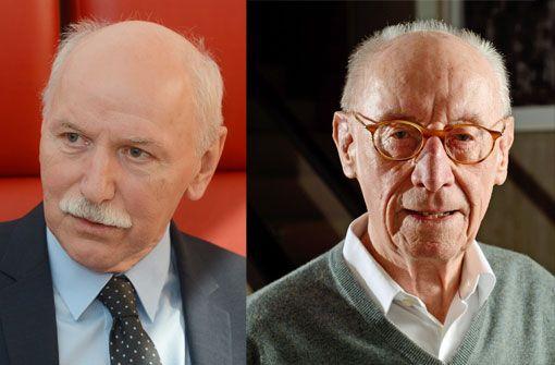 Edzard Reuter im Gespräch mit Wieland Backes im Literaturhaus Stuttgart