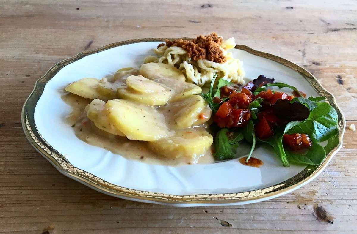 Das Rezept der Woche: Zum Aschermittwoch was urschwäbisches: Saure Kartoffelrädle
