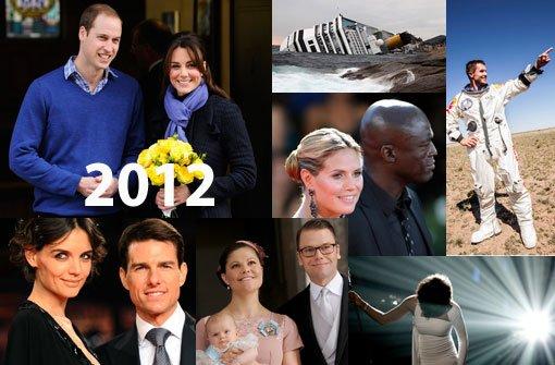 Bilder eines Jahres: Das war 2012