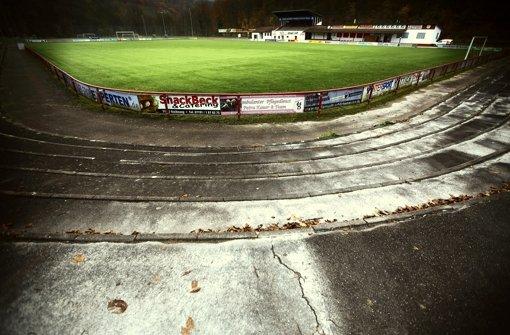 In alten  Stadion in den Etzwiesen darf nicht trainiert werden. Foto: Gottfried Stoppel