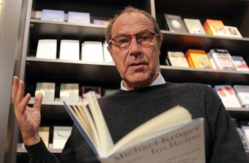 Der scheidende Hanser-Chef Michael Krüger Foto: dpa