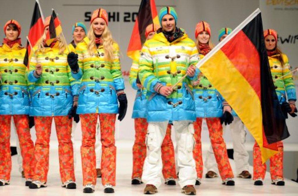 Deutsche olympia jacke 2018