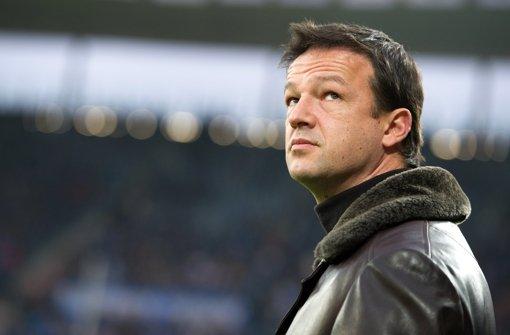 Ärger mit dem Ticketversender Viagogo: Der VfB-Manager Bobic. Foto: dpa