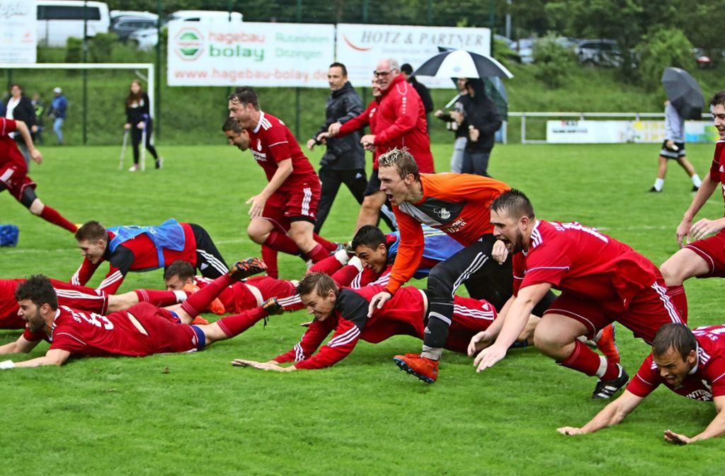 Relegation Kreisliga
