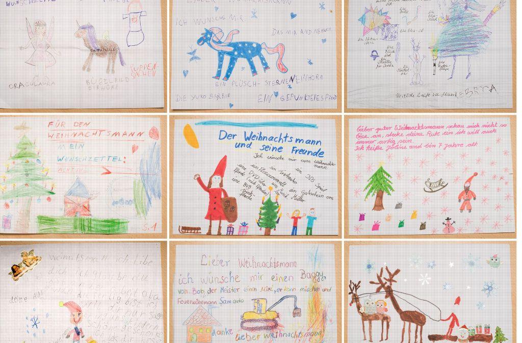 Kinder schreiben dem Weihnachtsmann: Die zehn lustigsten ...