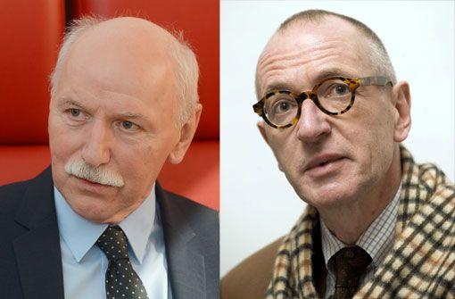 Ulrich Raulff im Gespräch mit Wieland Backes im Literaturhaus Stuttgart