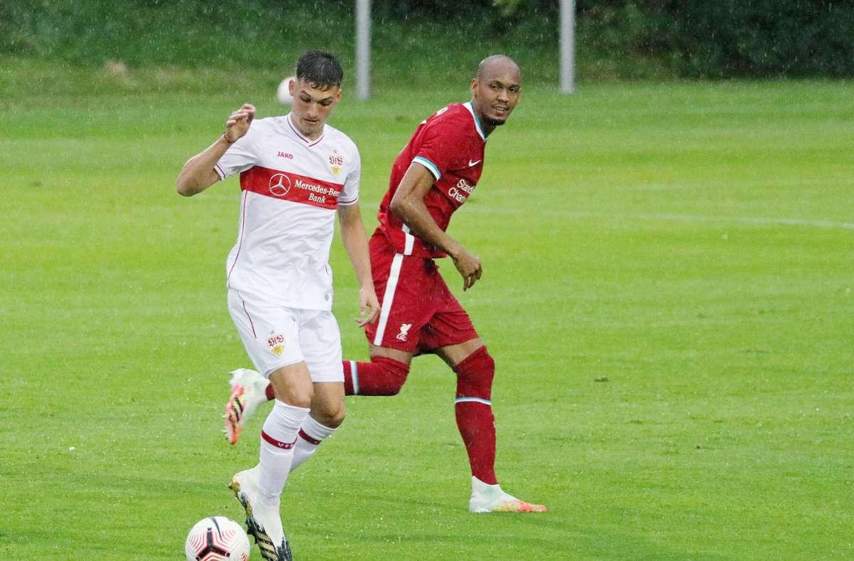 Vfb Stuttgart Vfb Zeigt Gegen Fc Liverpool Gute Ansatze Vfb Stuttgart Stuttgarter Zeitung