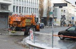 Nach dem Blitzeis vom Sonntag ist das gefürchtete Verkehrschaos am Montagmorgen in Stuttgart und dem Umland ausgeblieben. Foto: www.7aktuell.de | Oskar Eyb