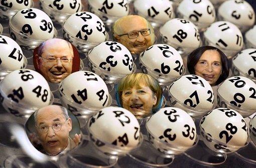 Lotteriespiel Politik