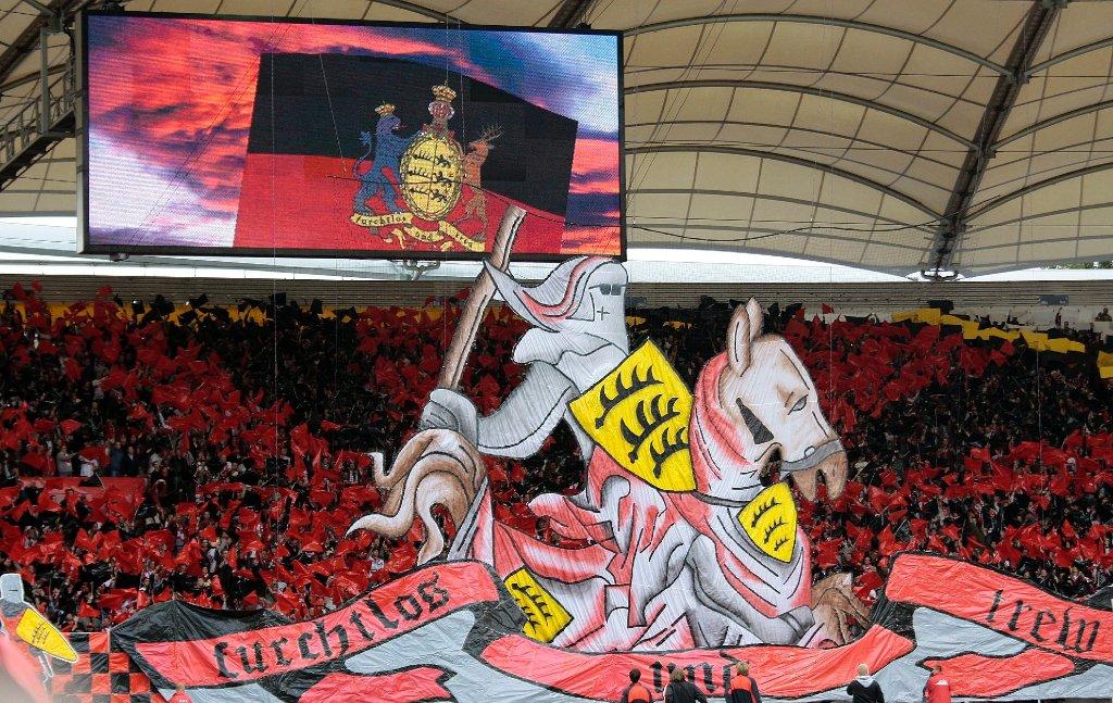reputable site f6cee 45602 Ultras des VfB Stuttgart: Commando Cannstatt wird 20 - VfB ...
