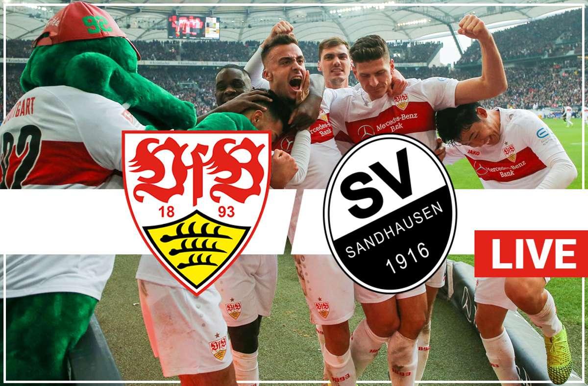Vfb Gegen Sv Sandhausen