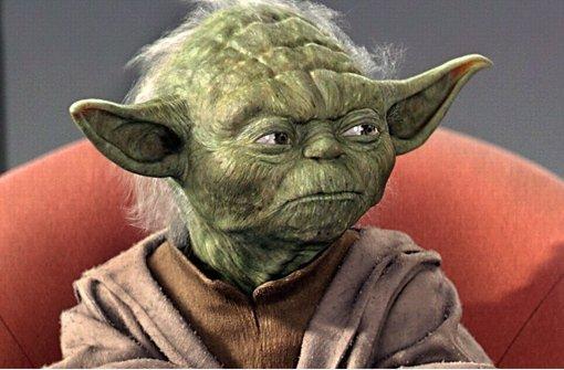 Meister Yoda beschwört den gesunden Menschenverstand Foto: dpa