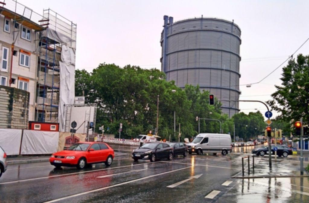 Verkehrschaos im Osten: Nächste Baustelle beim Gaskessel - Stuttgart ...