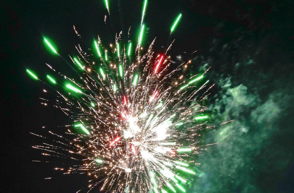 stuttgart feuerwerk verbot