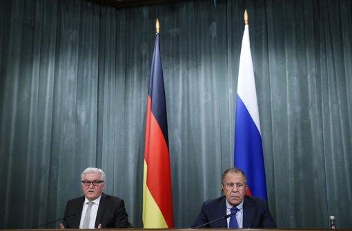 Schwarz-rote Sticheleien über Putin-Politik