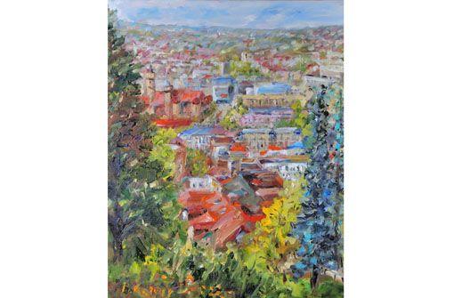Pavel Kratochvil: Landschaften ab 5.6. im Marienhospital