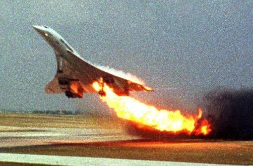 Beim Concorde-Unglück von Paris starben am 25. Juli 2000 insgesamt 113 Menschen, darunter 97 Deutsche. Foto: AP