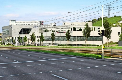 Neues Gebäude: Audi gibt   an der Automeile weiter Gas