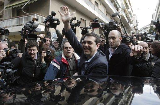 Prognose: Linkspartei Syriza gewinnt