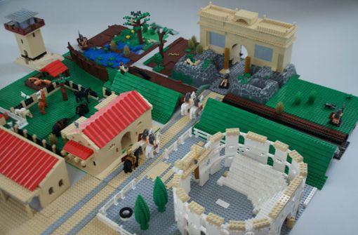 Römerwelt am Neckar und auf der Alb - Legoausstellung im Römermuseum