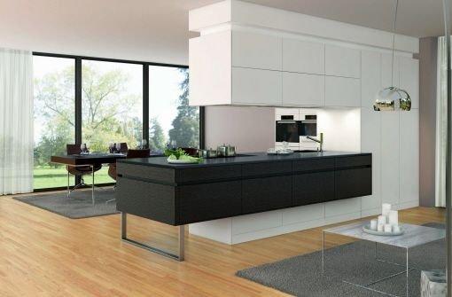 modernes wohnen k che lebensraum f r alle wohnen bauen stuttgarter zeitung. Black Bedroom Furniture Sets. Home Design Ideas