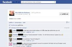 DANKE STUTTGART schreibt Fritz Kuhn auf seiner a href=http://www.facebook.com/FritzKuhnInsRathaus?ref=ts&fref=ts target=_blankFacebook-Seite/a. Dafür gibt es 759 Likes (Stand: 11.50 Uhr) und viele positive Kommentare (Nichts zu danken, Herr Kuhn, viel Erfolg, Anerkennung und Gesundheit für Ihr Amt!), aber auch kritische Stimmen (Ein grünes Stuttgart ist ein wenig lächerlich und Deutschland lacht über uns...). Foto: Screenshot SIR