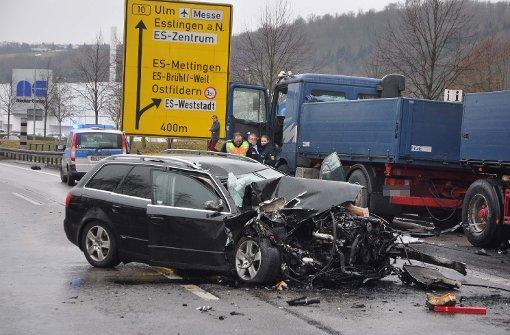 Schwerer Unfall am Neckar-Center