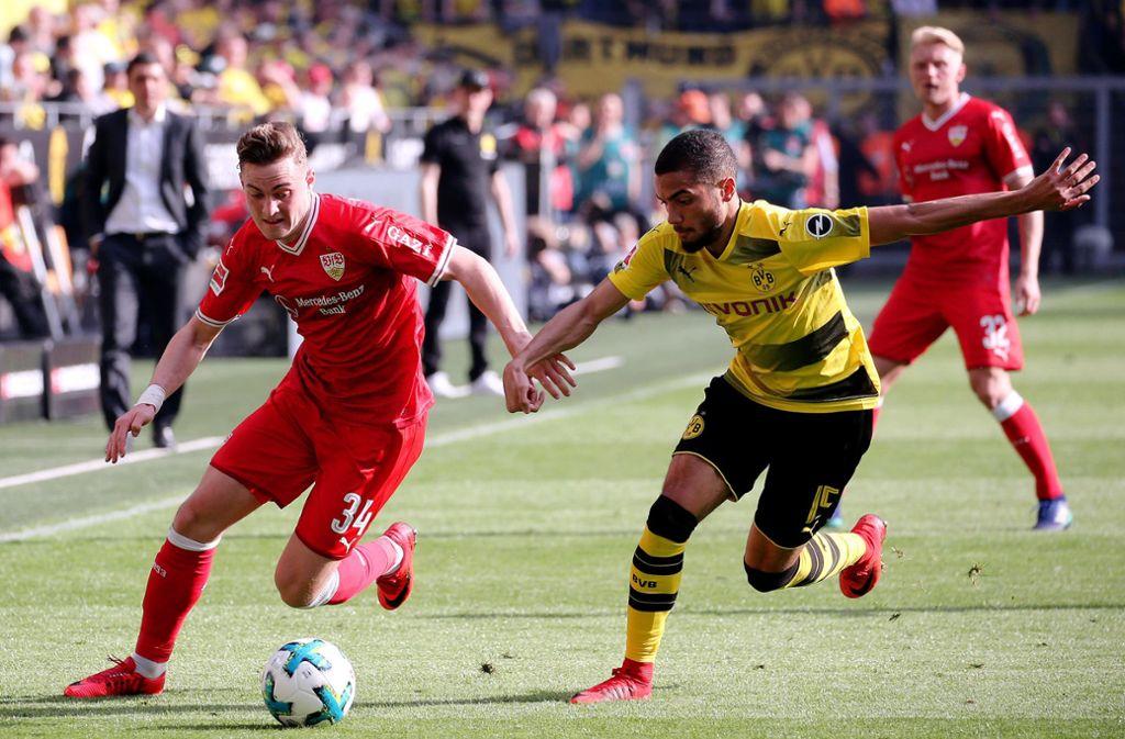 Transfergerücht zum VfB Stuttgart - Zieht es Jacob Bruun Larsen zurück? - Stuttgarter Zeitung