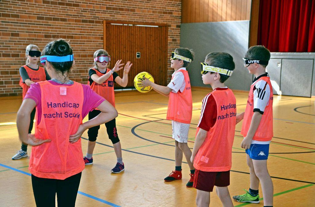 Jahnschule in Filderstadt Harthausen: Schüler versetzen sich