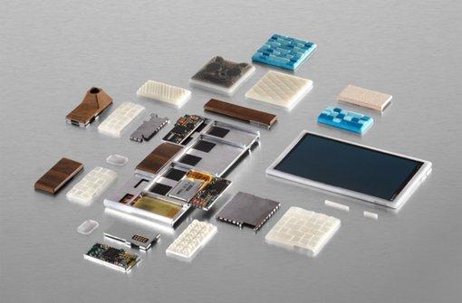 Smartphone aus Einzelteilen