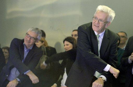 Kretschmann schwingt das Tanzbein