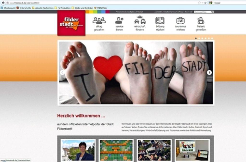 Neue Homepage Die Neue Visitenkarte Der Stadt Ist Online
