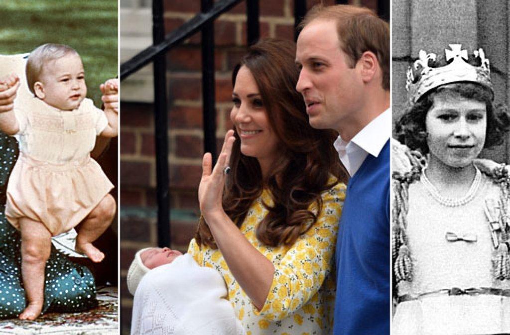 Das Royal Baby Ist Da Windsors In Den Kinderschuhen Panorama