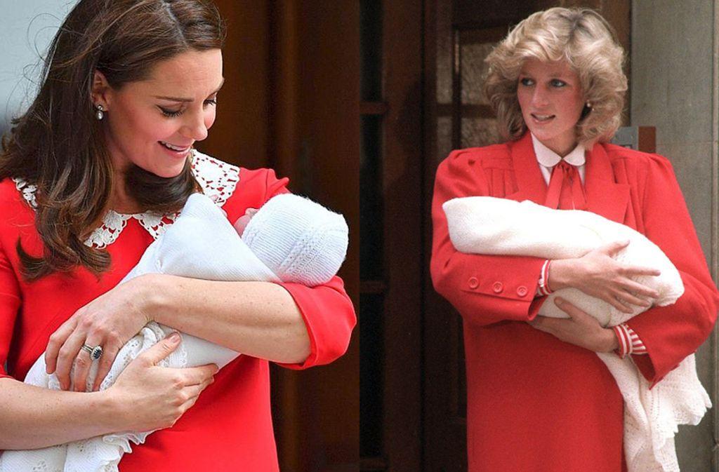 Herzogin Kate Und Prinz William Der Royal Baby Tradition