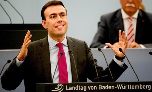 Beifall für SPD-Landeschef   Schmid