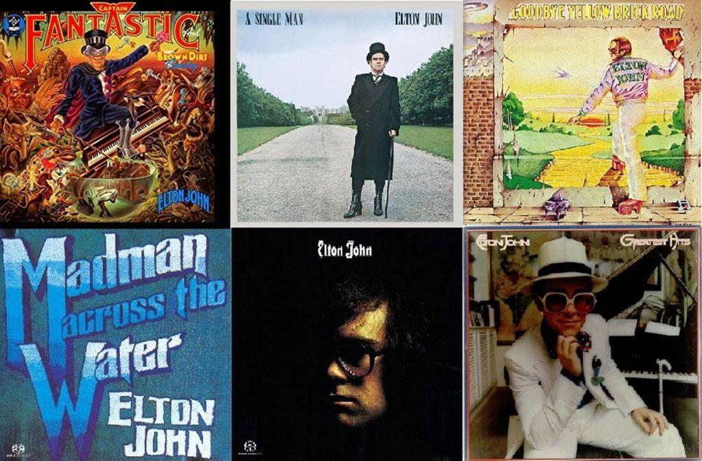 """Von """"Your Song"""" bis """"Rocket Man"""": Elton John – Zehn Lieder für die ..."""