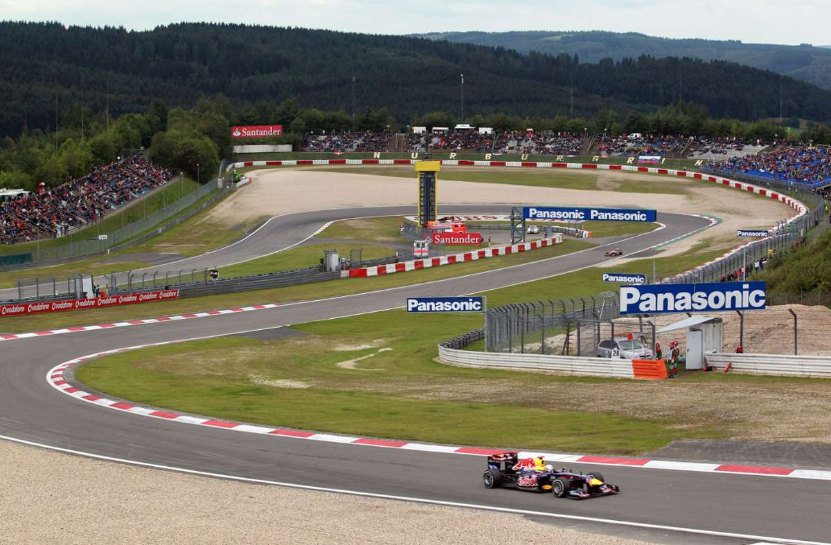 Formel 1: Rennen auf dem Nürburgring mit 20 000 Zuschauern